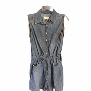 Universal Thread Medium Denim Romper